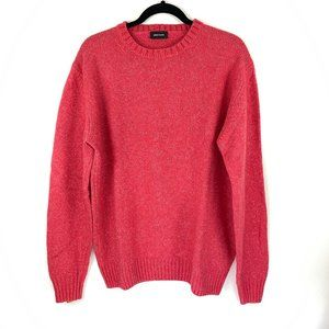 Heritage Men's Wool Coral Long Sleeve Sweater L